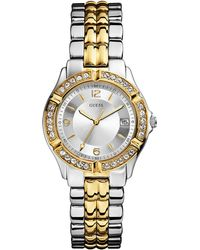 Guess - Ladies Dazzling Sporty Mid-Size Watch - Lyst