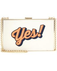 Anya Hindmarch Imperial Leather Box Clutch - Lyst