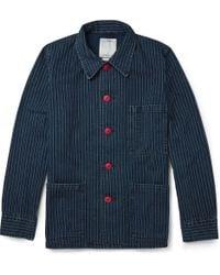 Visvim Travail Indigo Wabash Coverall Jacket - Lyst