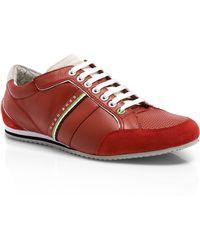 Boss Green Victoire La | Leather Sneakers - Lyst