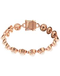 Eddie Borgo - Pearl And Rose-Gold Plated Bracelet - Lyst