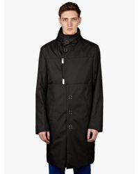 Raf Simons Mens Perforated Parka - Lyst