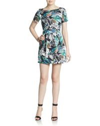 French Connection Calliope Printed Dress - Lyst