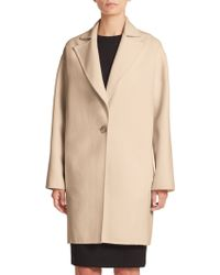 Carolina Herrera | Single-button Dress Coat | Lyst