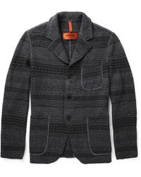 Missoni Knitted Woolblend Jacket - Lyst