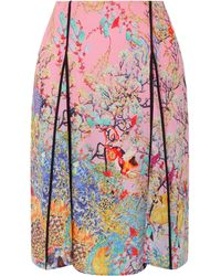 Mary Katrantzou Goude Skirt Ramora Mist multicolor - Lyst