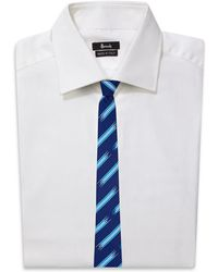 Turnbull & Asser - Broken Stripe Silk Tie - Lyst