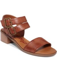 Rampage Jabari Two Piece Sandals - Lyst