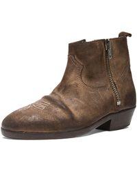 Golden Goose Deluxe Brand Viamole Suede Boots - Lyst