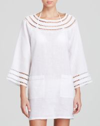 Tory Burch Solamir Swim Cover Up Tunic Dress - Lyst