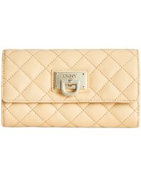 DKNY Gansevoort Quilted Large Carryall Wallet - Lyst