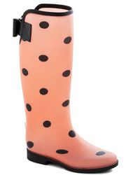 ModCloth Splishflash Boot pink - Lyst