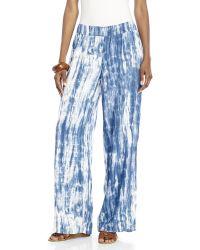 Beach Lunch Lounge - Norma Tie-Dye Pants - Lyst