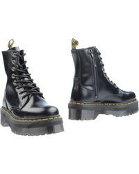 Dr. Martens Ankle Boots black - Lyst
