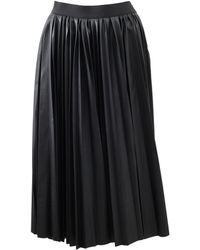Lanvin Sun Pleated Skirt - Lyst