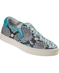 Ash Impuls Slip-On Sneaker Lagoon Snake - Lyst