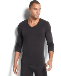 Calvin Klein Mens Long Sleeve U-neck T-shirt - Lyst