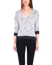 Rag & Bone Dionne V Neck Sweater - Lyst