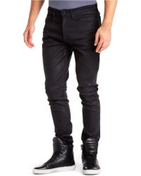Kenneth Cole Lava Wash Skinny Jeans - Lyst