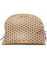 Loeffler Randall - Women's Small Perforated Cosmetic Bag - Lyst