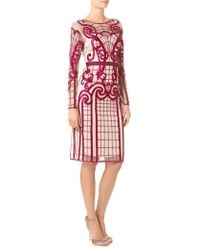 Temperley London Damson Embroidered Catroux Dress - Lyst
