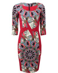 Etro Mosaic Dress - Lyst