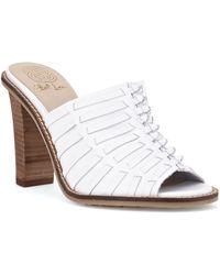 Elliott Lucca Vienna Leather Mule Sandals