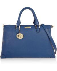 Versace Textured-Leather Shoulder Bag - Lyst