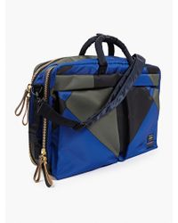 Marni X Porter Men'S Blue Tanker Three-Way Briefcase - Lyst