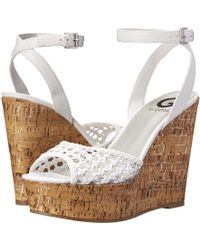 G by Guess White Ethal - Lyst