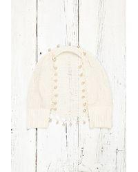 Free People Vintage Knit Shrug - Lyst