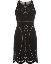 Moschino Cheap & Chic Peace Laser Cut Dress - Lyst