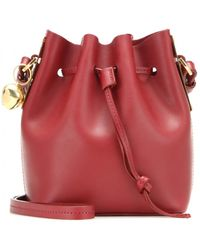 Sophie Hulme - Mytheresa.com Exclusive Nano Nelson Leather Bucket Bag - Lyst