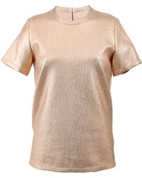 Reed Krakoff Foiled Canvas T-shirt - Lyst