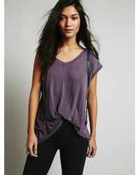 Free People We The Free Show Off Tank - Lyst
