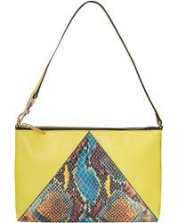 Stella McCartney Yellow Cavendish Shoulder Bag - Lyst