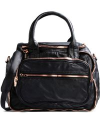 Alexander Wang Large Leather Bag - Lyst