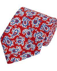Petronius - Paisley Printed Tie - Lyst