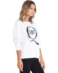 McQ by Alexander McQueen Mcq Logo Classic Sweater - Lyst
