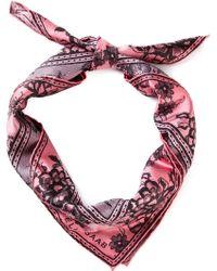 Elie Saab Floral Lace Print Scarf - Lyst