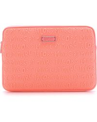 "Marc By Marc Jacobs Adults Suck Neoprene 11"" Computer Case - Fluoro Coral - Lyst"
