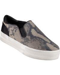 Ash Jungle Slip-On Sneaker Taupe Snake - Lyst