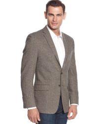 Calvin Klein Donegal Tweed Slimfit Sport Coat - Lyst