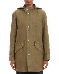 A.P.C. Kubrick Hooded Jacket - Lyst