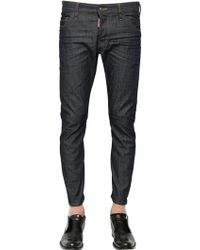 DSquared2 165cm Michael Buble Dark Wash Jeans - Lyst