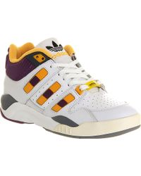 Adidas Torsion Court Strategy Trainers - Lyst