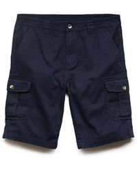 21men Cotton Cargo Shorts - Lyst