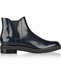Alexander Wang Dewi Patentleather Ankle Boots - Lyst