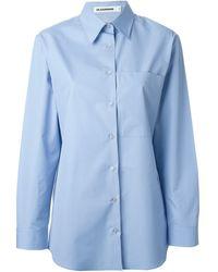 Jil Sander 'Terry' Shirt - Lyst