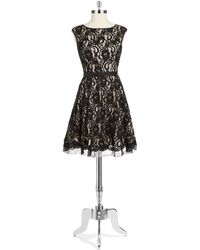 Eliza J Lace Party Dress - Lyst